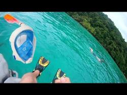 Сноркелинг в Таиланде! Обзор полнолицевой маски для сноркелинга!