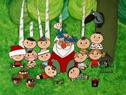 Новогодние мультфильмы - Дед Мороз и лето