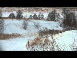 Лыжная трасса у деревни Борисёнки
