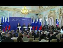 Press statement following Russia-EU summit