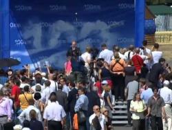Выступление на праздновании 100-летия ВВС России