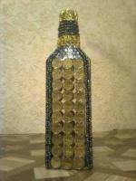 декорирование бутылок, продам