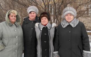 Ветераны автостанции. 29 декабря 2011 года.