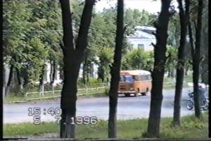 Автобус ПАЗ- 672, теперь большая редкость на дорогах.