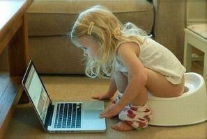Гляжу малая, пяти лет, набирает что-то в поисковике. Подхожу, читаю: Как уволиться из детсада?