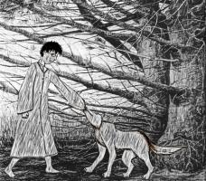 Каджи и волк