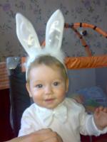 Вот мой зайчонок