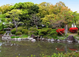 Сад Кинкакудзи в Киото
