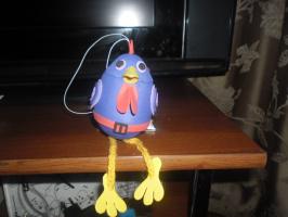Первая игрушка из фоамирана