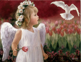 символ мира-голубь