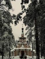 Храм прп. Серафима Саровского в Графской( 4 фото)
