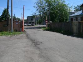 """Въезд в наш  маленький городок под названием """" Дом престарелых"""" который  находится у нас в Пучеже."""