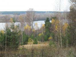 Река Ячменка в октябре