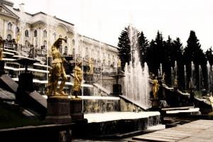 Петергорфские фонтаны
