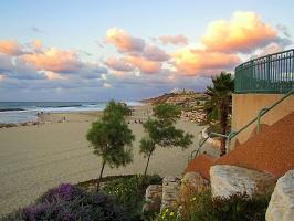 На нашем Ашкелонском пляже