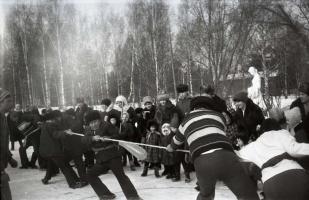 Ну-ка, сильно, ну-ка дружно! Зимние забавы 1983.