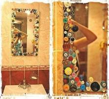 Декор зеркала.
