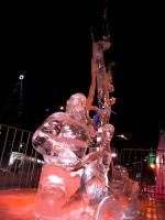 На конкурсе ледяных фигур
