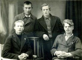 1941 г. Перед отправкой в Армию
