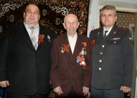Поздравление ветерана с 90-летием
