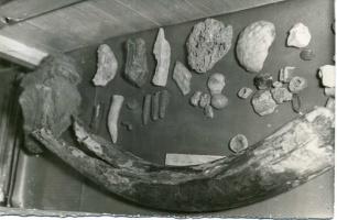 В школьном музее. 1966г.