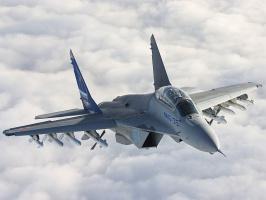 МиГ-35 в полёте