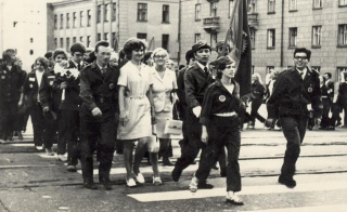 """Студенческий отряд """"Янтарь- 72""""."""