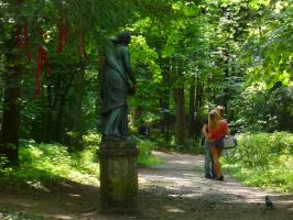 В летнем парке