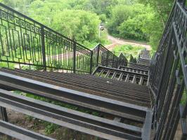 Не достроенная лестница...
