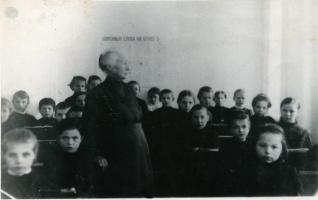 В женской гимназии