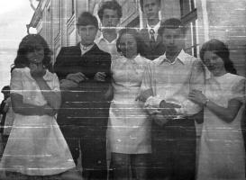 Наш школьный выпускной вечер. 28 июня 1973 года.
