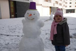 Анечка и снеговик
