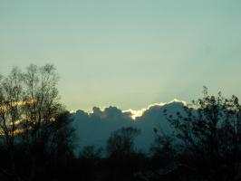 Небо в мае (+4 снимка)