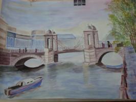 Ломоносовский мост. Петербург