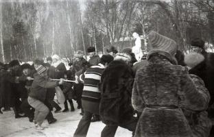Сила духа, сила воли и сила мышц! Зимний праздник 1983.