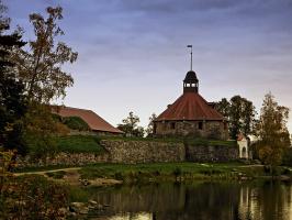 Крепость Корела. Круглая башня