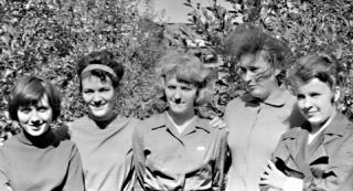 Коллектив редакции.60-е годы.