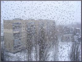 Первый снег...УРА!!!!