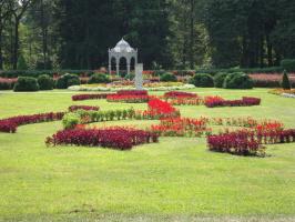 не английский сад, но очень по-европейски