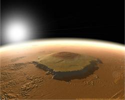 Гора Олимп (Марс)