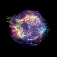 Взрыв звезды Cassiopeia A