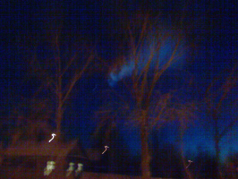Спираль в небе Екатеринбурга