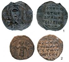 Вислые свинцовые печати