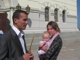 Крещение состоялось. Заслуженный отдых участникам