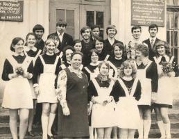 """10 """"б"""" класс,1974 год."""