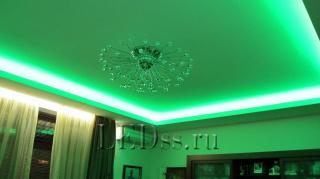 Светодиодная подсветка потолка от www.LEDss.ru
