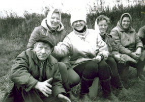 Шефы на привале...Осень 1993.