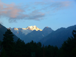 Утро в Горах Кавказа