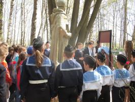 Митинг у братской могилы