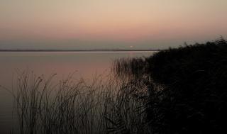 """Рассвет ,озеро """"КЫЗЫЛ - ЯР"""""""
